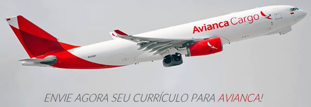 currículo na Avianca