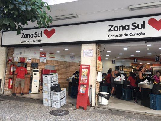 vagas supermercado zona sul