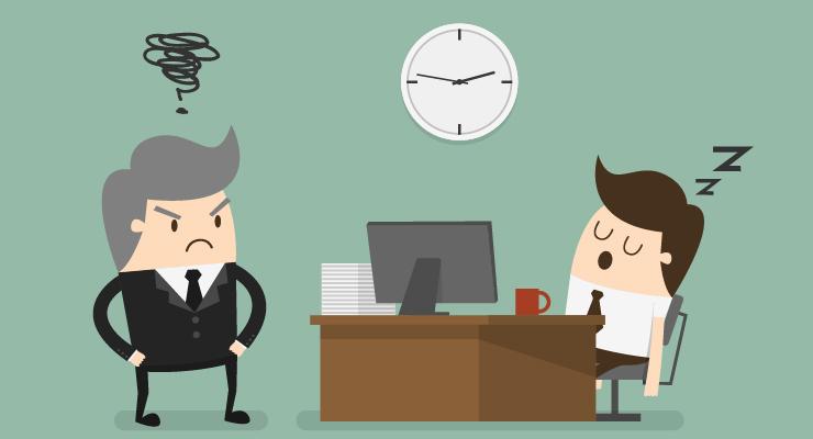 insatisfação no trabalho